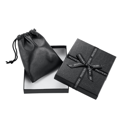 soft faux leather travel drawstring black watch pouch jewelers gift bag