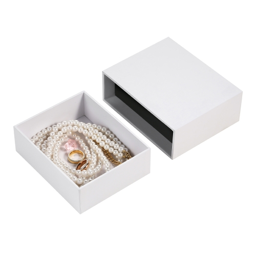 hot new design paper drawer jewelry pearl necklace gift box