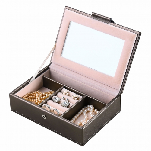 custom design multifunction jewelry cosmetic storage magnetic closure gift box