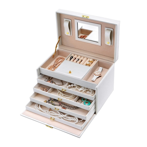 perfume counter stands wooden box watch cosmetic jewelry storage display cabinet organizer