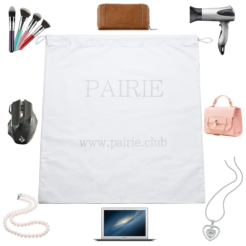 luxury drawstring cosmetic jewelry bag custom cotton gift mens travel bag packaging